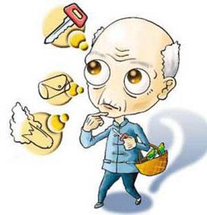 哪些症状属于老年痴呆症