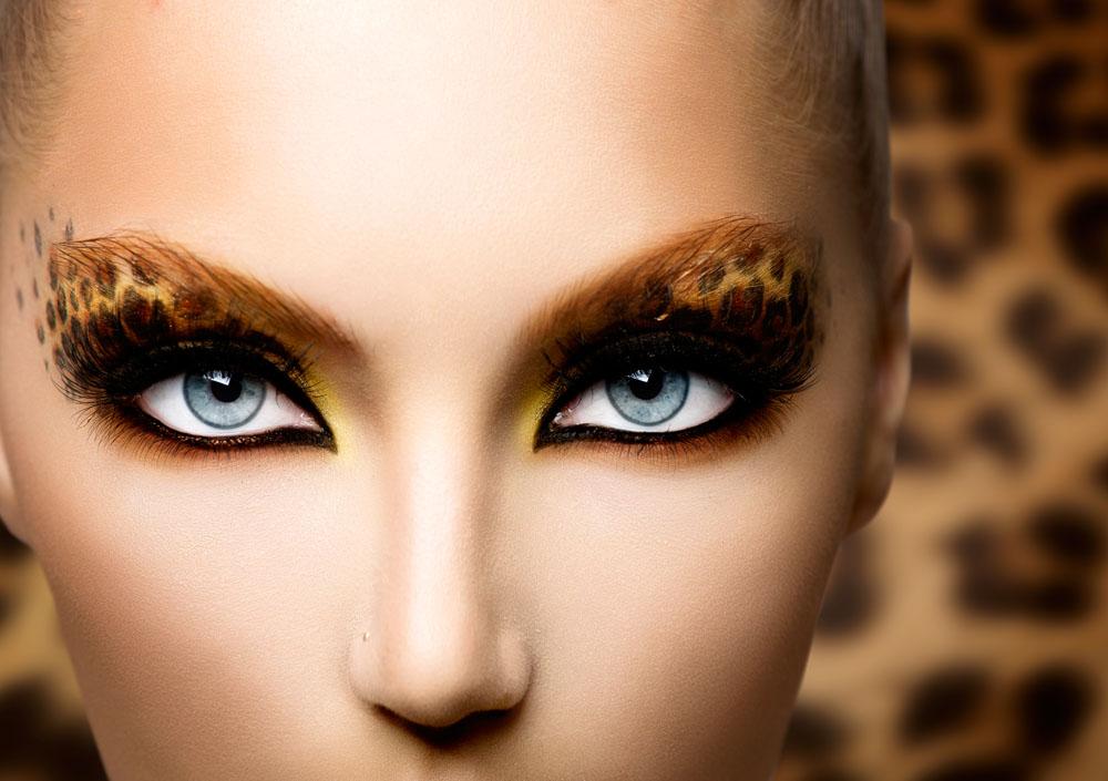 高清彩妆模特