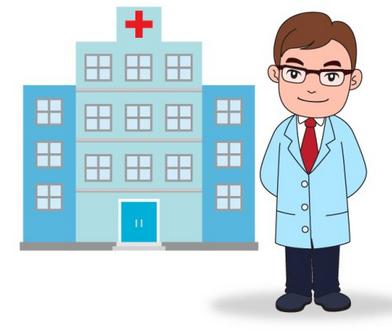 医院漫画素材图片素材