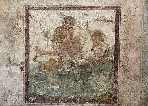 有图有真相:庞贝千年妓院壁画大尺度惊人
