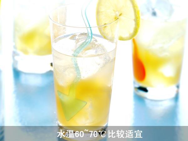 柠檬拉花步骤图解