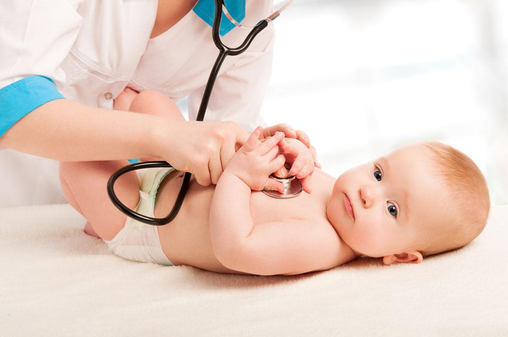 六个月宝宝长牛皮癣什么症状?