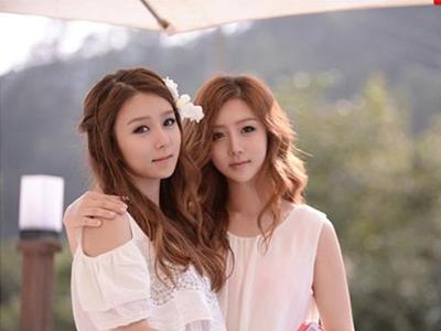 韩国地包天双胞胎矫正牙齿变美女姐妹