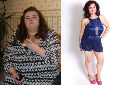 逆袭男神:胖妞减肥前后对比照被公开