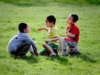孩子成长需要啥样的小伙伴
