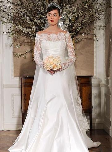 如何让现代婚纱具有复古范