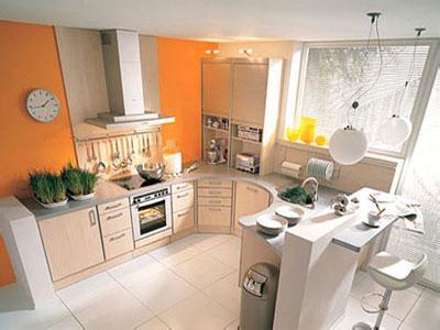 小户型的厨房如何装修更显大