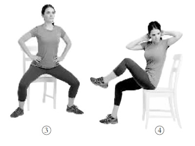 坐班族福音:一把椅子锻炼全身