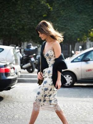 时尚街拍:这个春季印花当道