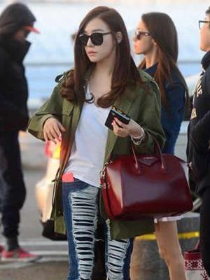 看少女时代街拍学韩流时尚