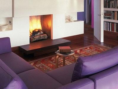 2014最IN的家居装饰色-兰花紫