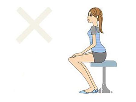 形成易瘦体质的正确坐姿