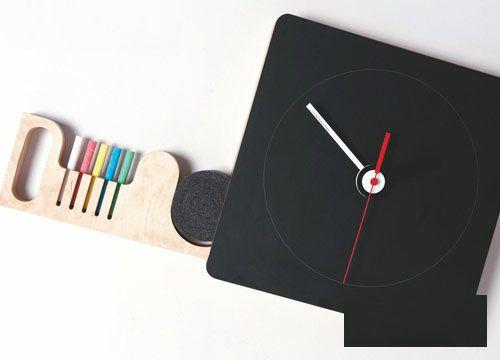 时尚又个性的时钟是什么样的?