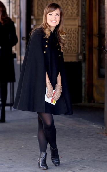 看欧美女明星如何演绎毛呢大衣?