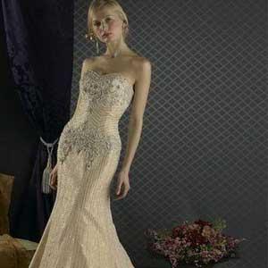 美人鱼新娘婚纱是什么样的?