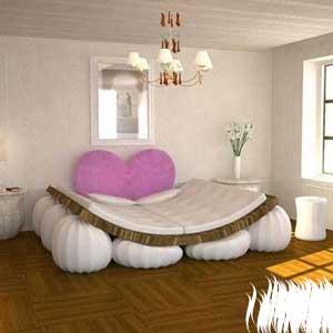 搞怪婚床另类在哪?