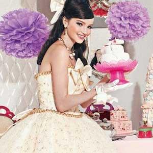 甜美系芭比新娘婚纱是什么样的