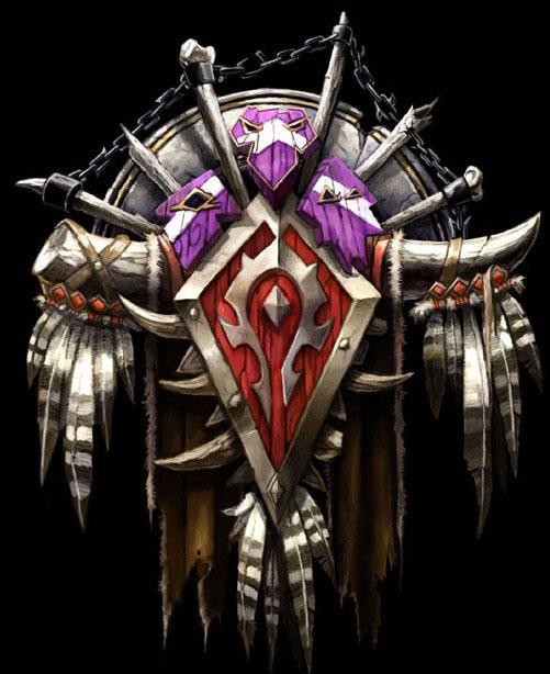 魔兽世界各种族标志
