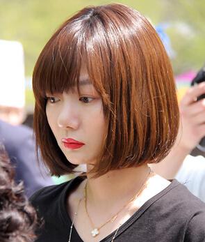9款适合胖脸女生的短发发型