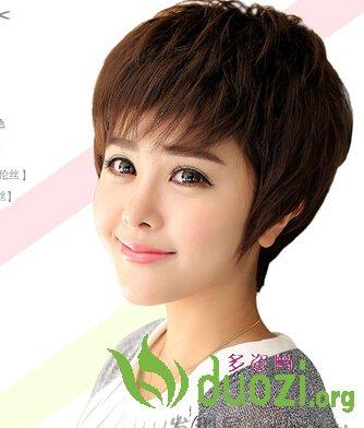 9款最新日系女生短发碎发发型 打造时尚个性女生发型