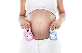 妈妈肚子形状决定孩子是男是女?