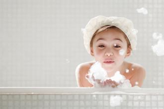小孩得了牛皮癣怎么洗澡
