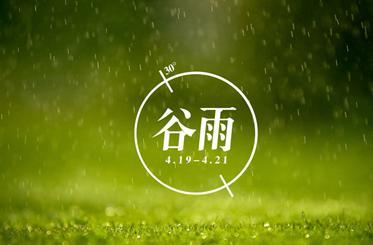 24节气之谷雨节气养生知识